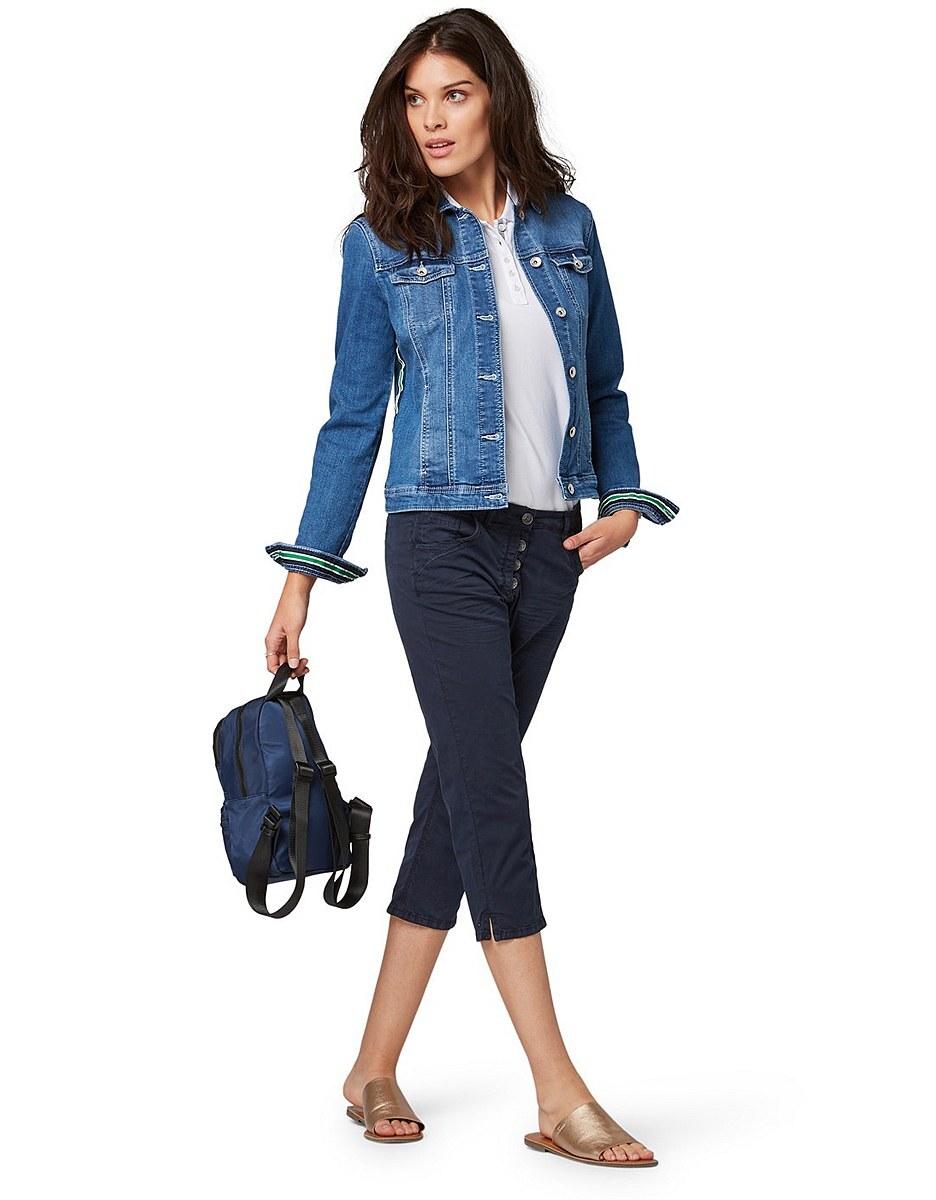 Bild 4 von TOM TAILOR - 3/4 Jeans mit Knopfleiste