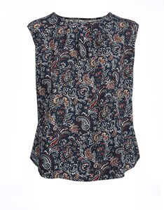 THEA - Top mit Allover Print