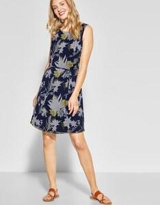 Street One - Chiffon Kleid mit Blumendruck