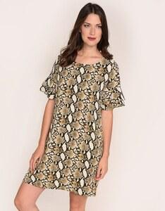 Viventy - Kleid aus Polyester-Crepe mit Schlangendruck