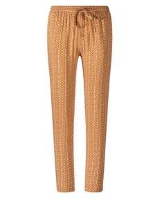 Via Cortesa - leichte Hose im Pyjama-Style aus reiner Viskose