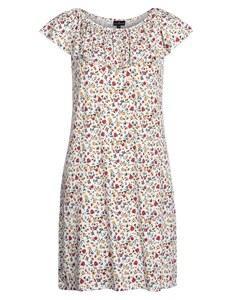 Via Cortesa - Jersey-Kleid mit floralem Druck und Volant