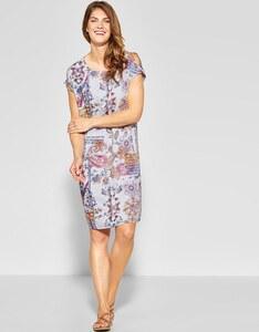 CECIL - Kleid mit tollem Patchworkdruck