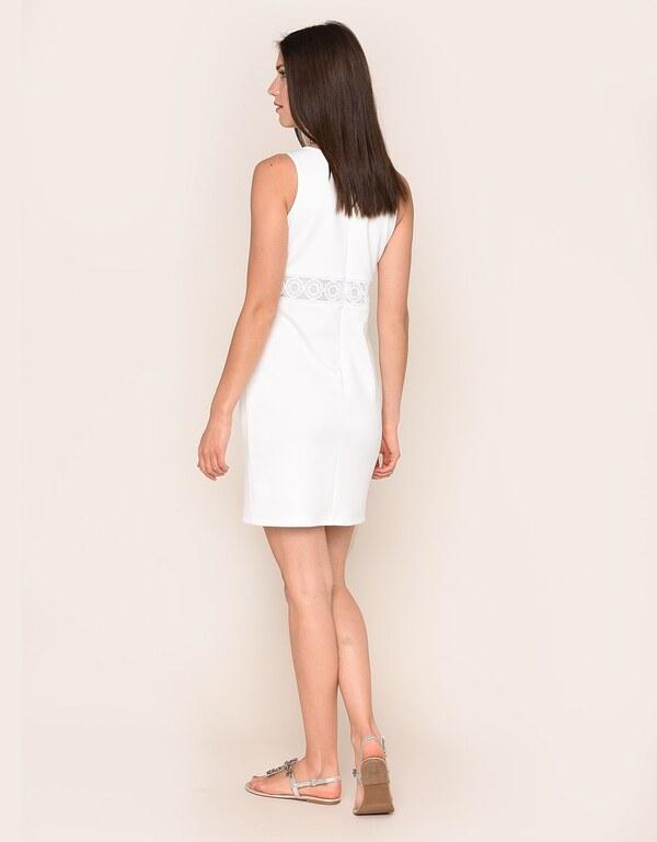 My Own Kleid mit Spitzeneinsatz