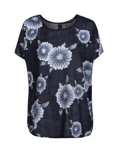 THEA - Bluse mit Blumen-Print aus reiner Baumwolle