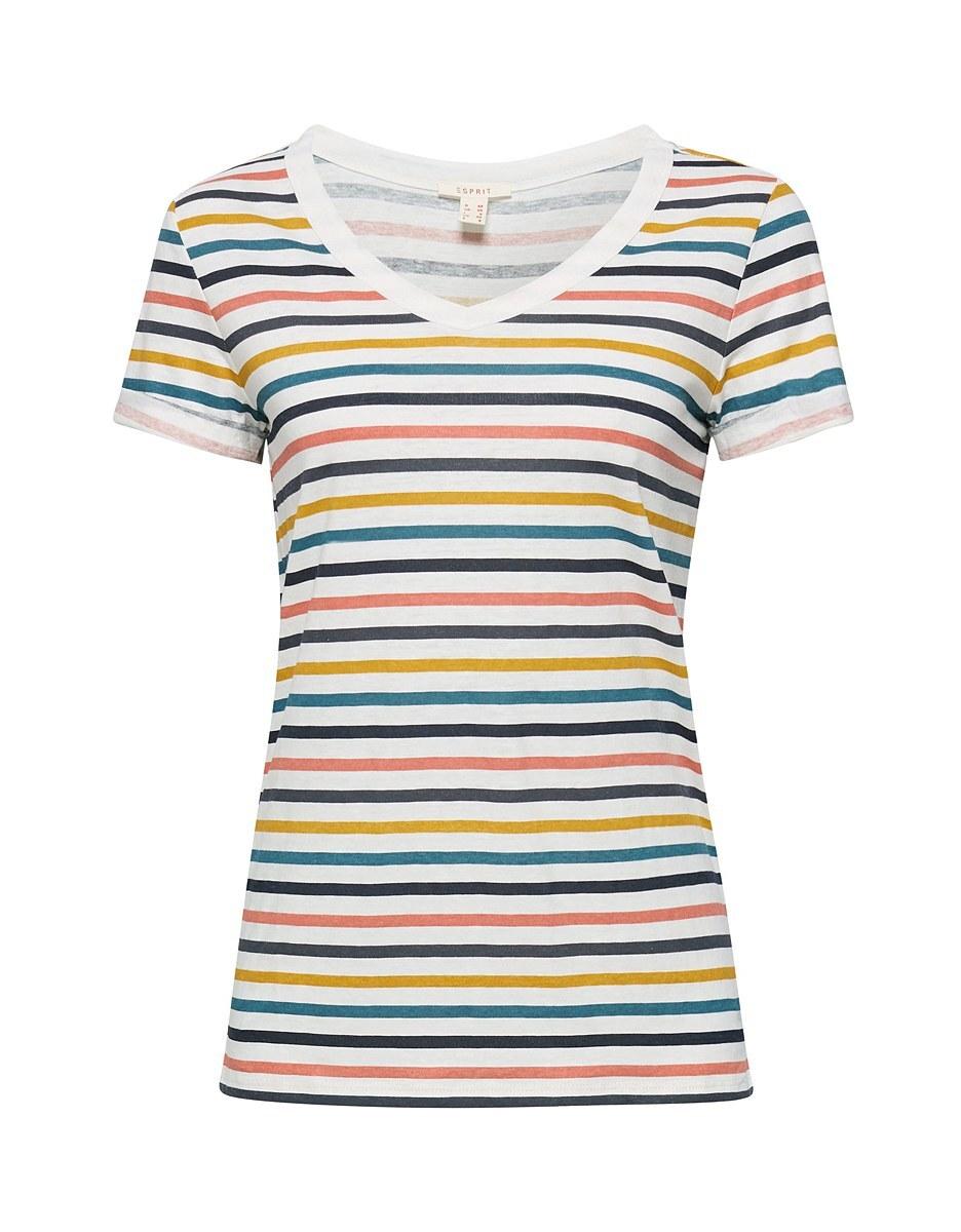 Bild 1 von Esprit - Print-Shirt mit Leinen