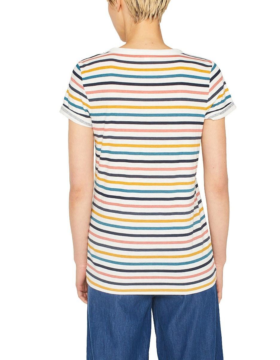 Bild 3 von Esprit - Print-Shirt mit Leinen