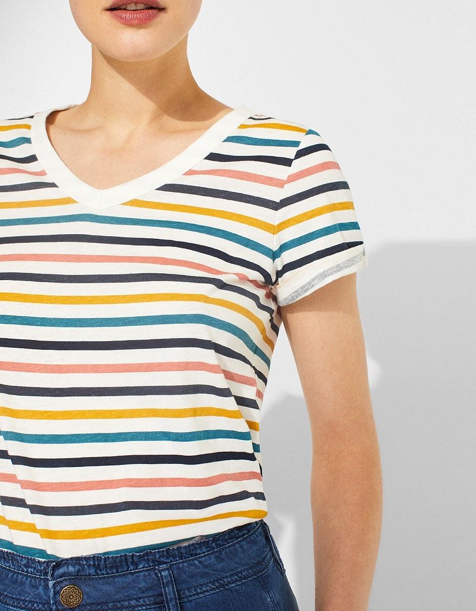Bild 4 von Esprit - Print-Shirt mit Leinen