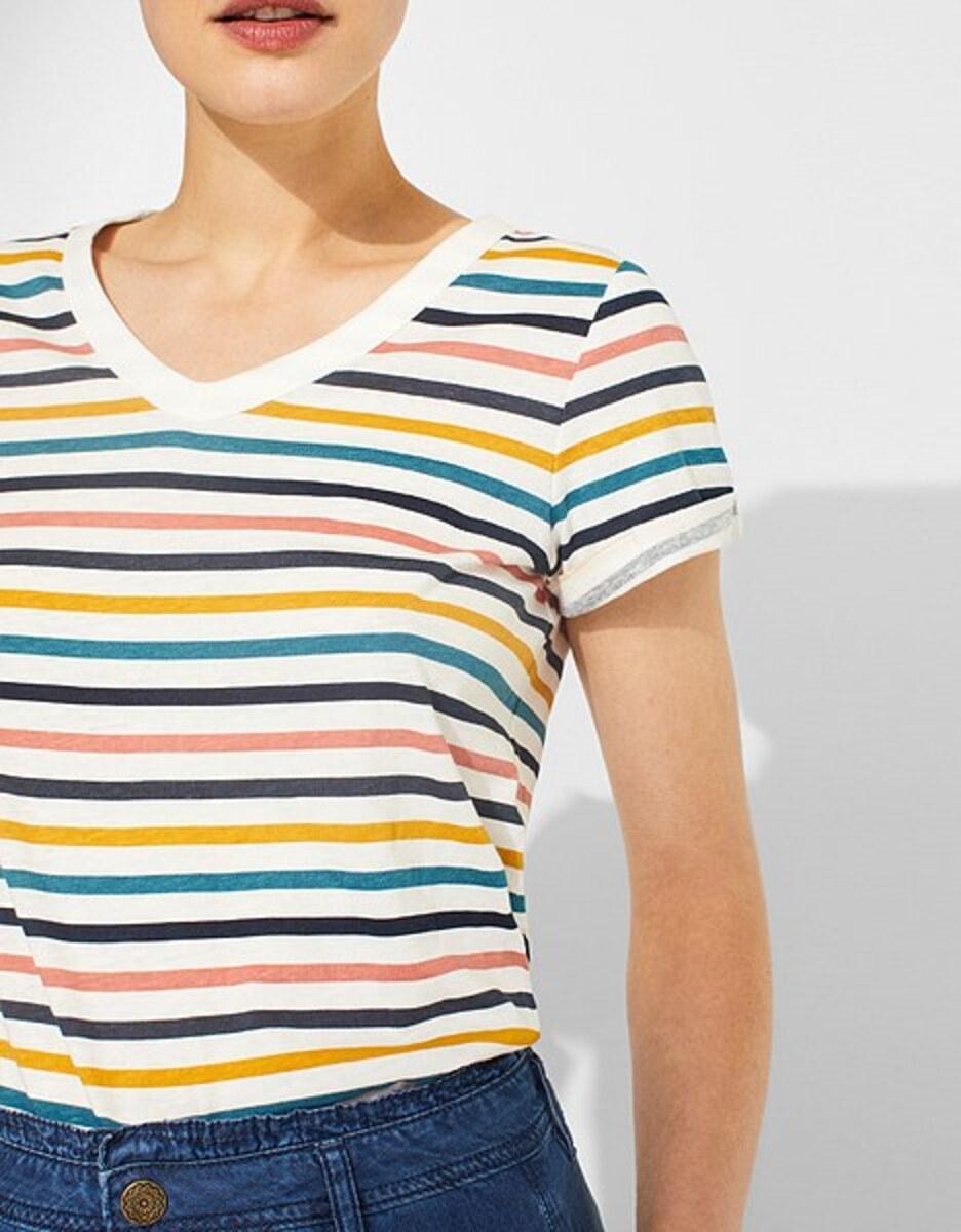 Bild 5 von Esprit - Print-Shirt mit Leinen