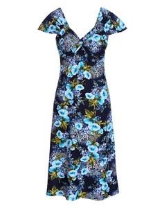 Bexleys woman - Jerseykleid mit Knotendrapierung