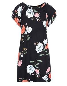 My Own - Jersey-Kleid mit Allover-Print und Volantärmeln