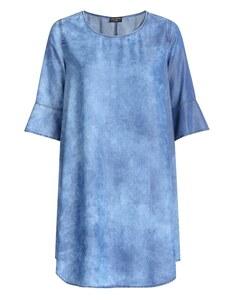 VIA APPIA DUE - Lässiges Kleid in Jeansoptik