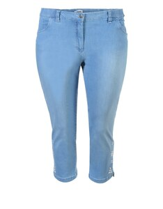 "KJ Brand - 7/8-Jeans ""Betty"" mit Schmuckstein-Dekoration"