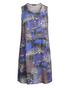 No Secret - Luftiges Viskose-Kleid mit Rundhals