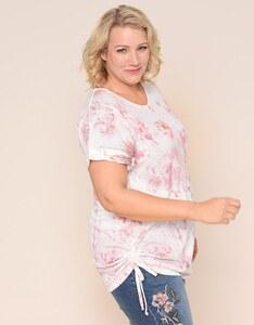 THEA - Hübsches Feinstrick-Shirt mit V-Ausschnitt