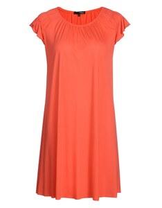 My Own - leichtes Jersey-Kleid mit gesmokten Raglanärmeln