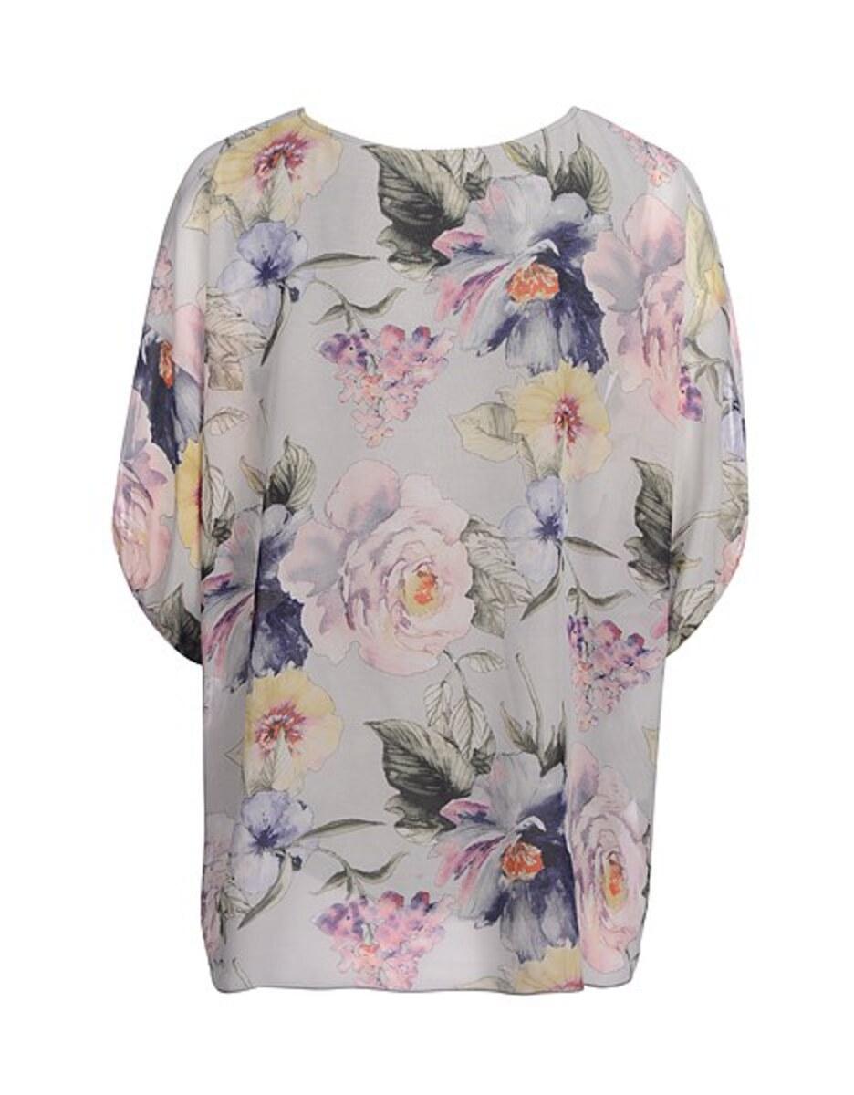 Bild 3 von Viventy - Bezaubernde Tunika-Bluse mit Blumendruck