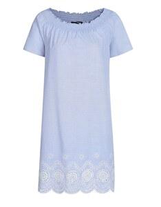 My Own - Kleid mit feinen Streifen aus reiner Baumwolle