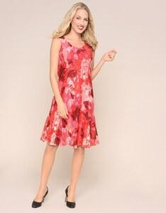 Bexleys woman - Kleid aus floral bedruckter Spitze