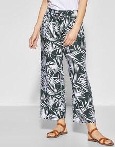 Street One - 7/8 Hose mit Palmenprint