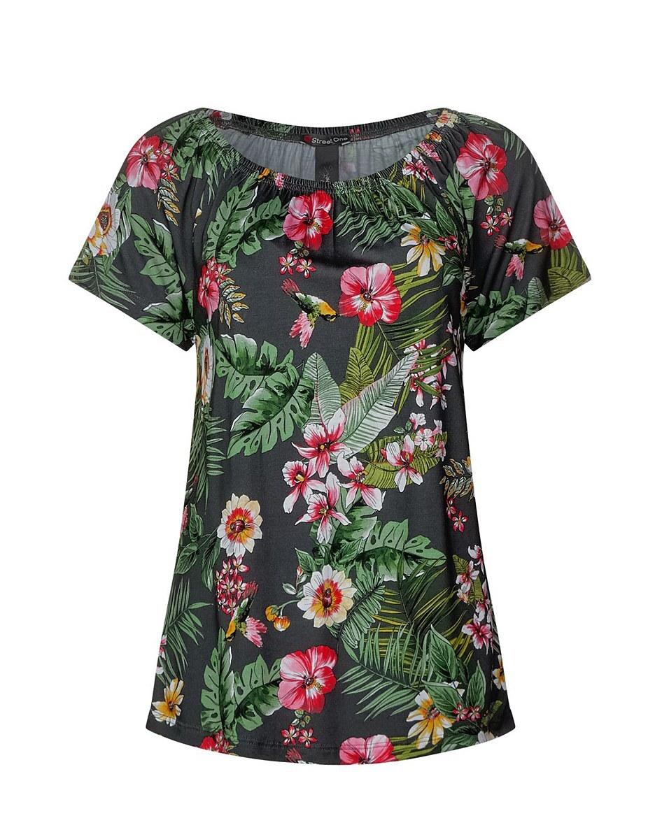 Bild 4 von Street One - Carmen Shirt mit Blumenprint