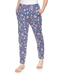 My Own - leichte Hose im Pyjama-Style aus reiner Viskose