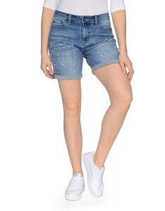 My Own - Jeans-Shorts mit Perlen