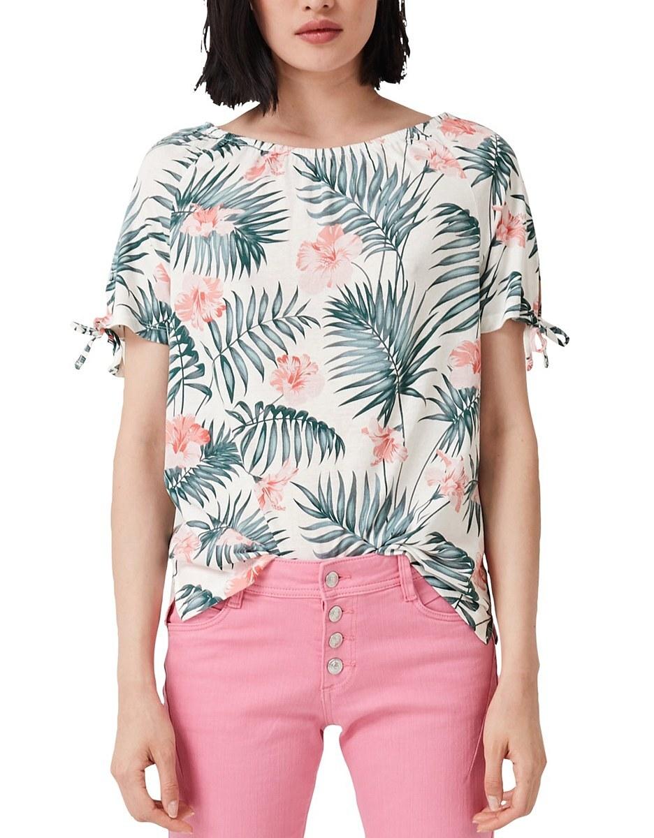 Bild 2 von s. Oliver - Off-Shoulder-Shirt mit angesagtem Print
