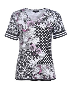 Bexleys woman - Shirt mit ausgefallenem Mustermix
