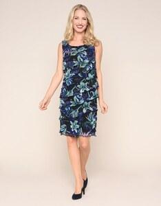 Bexleys woman - Mesh-Kleid im Stufen-Look