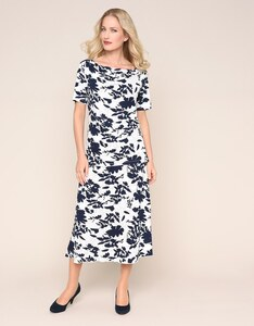 Malva - 2-teiliges Jerseykleid mit floralem Muster