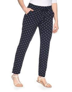 My Own - gemusterte Hose im Pyjama-Style aus Viskose