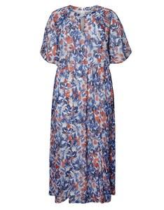 JUNAROSE - Farbenfrohes, langes Sommer-Kleid