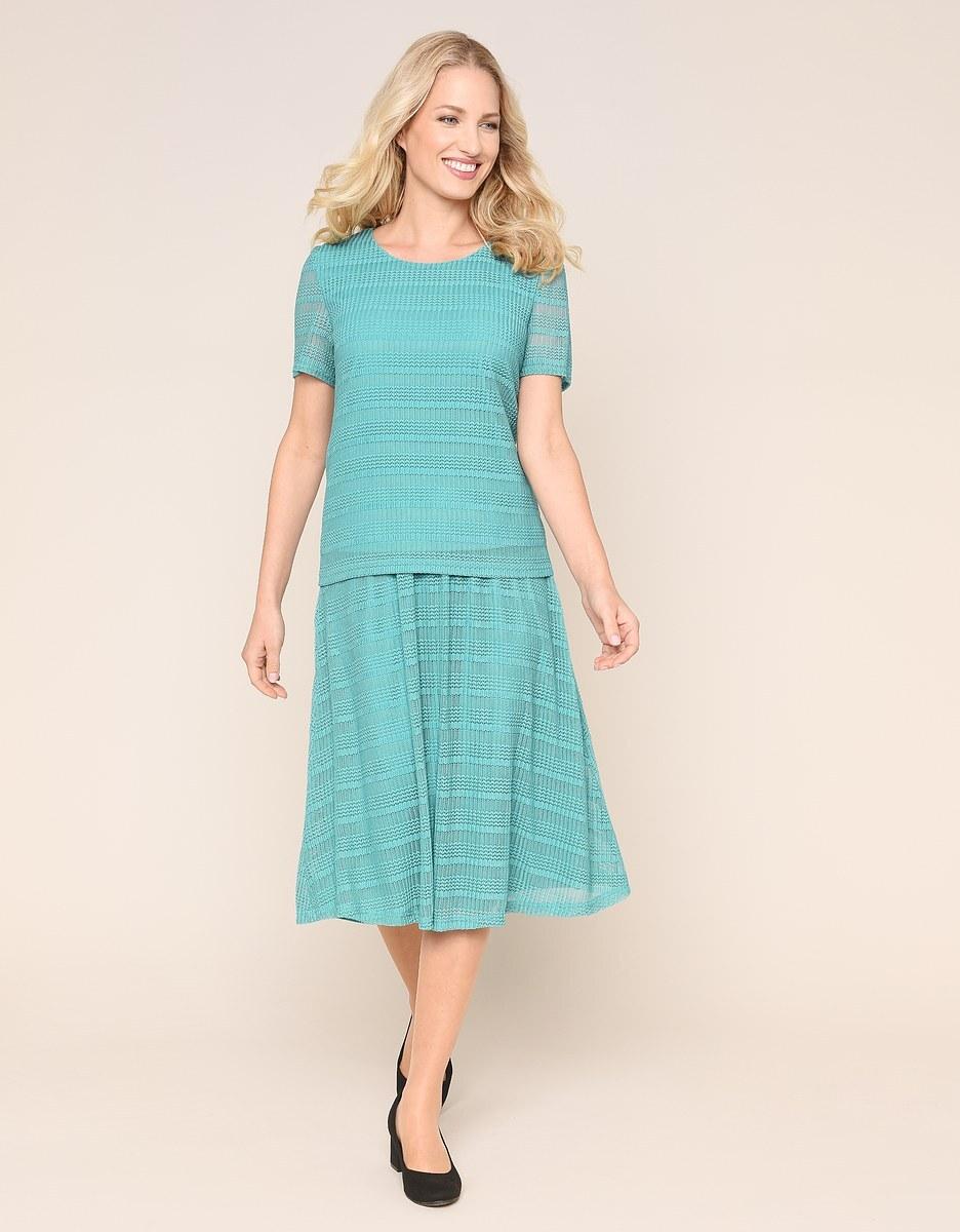 Bild 1 von Malva - 2-teiliges Kleid in Mesh-Qualität