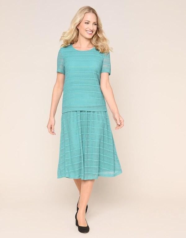 Malva - 2-teiliges Kleid in Mesh-Qualität