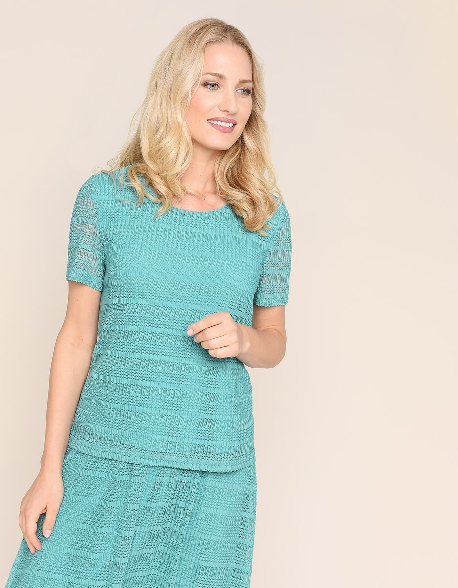 Bild 2 von Malva - 2-teiliges Kleid in Mesh-Qualität