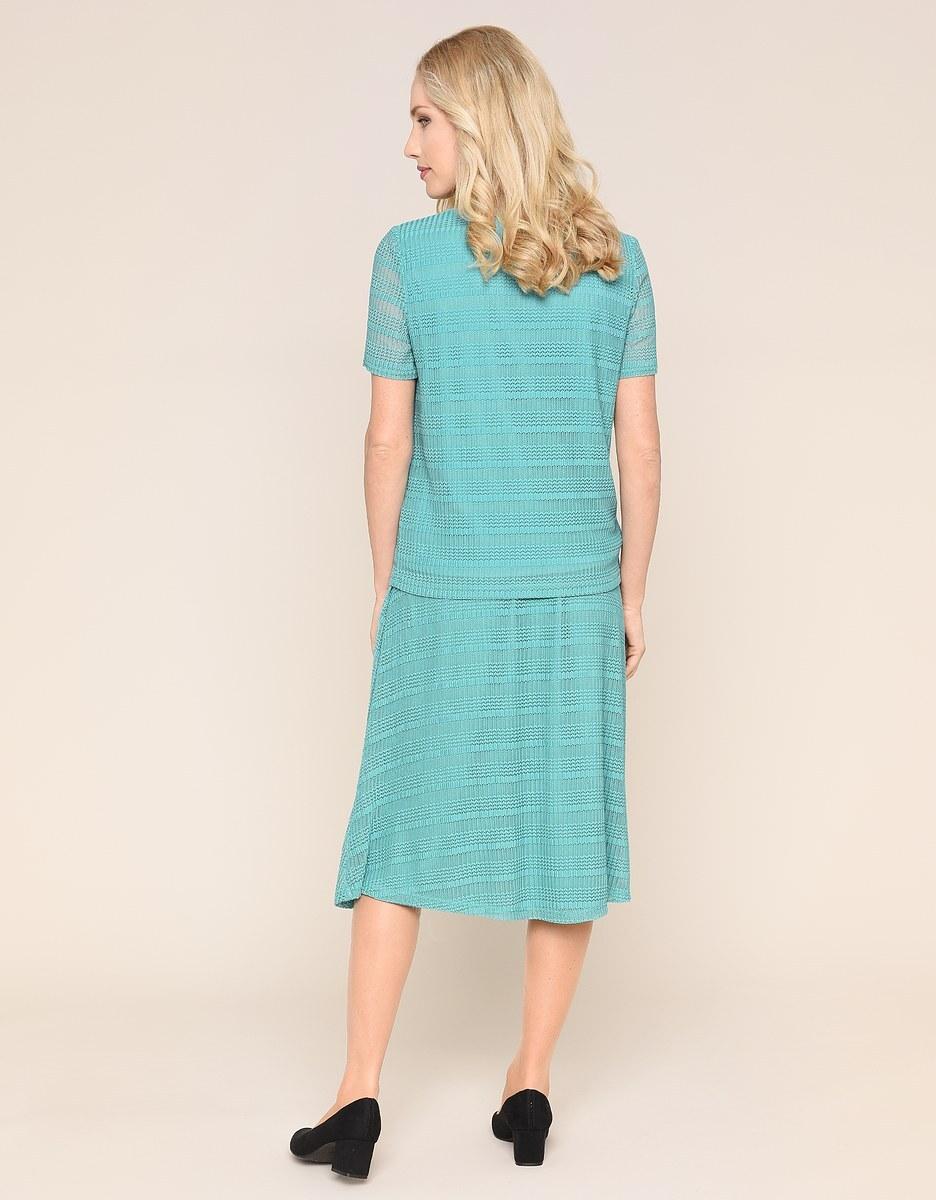 Bild 3 von Malva - 2-teiliges Kleid in Mesh-Qualität