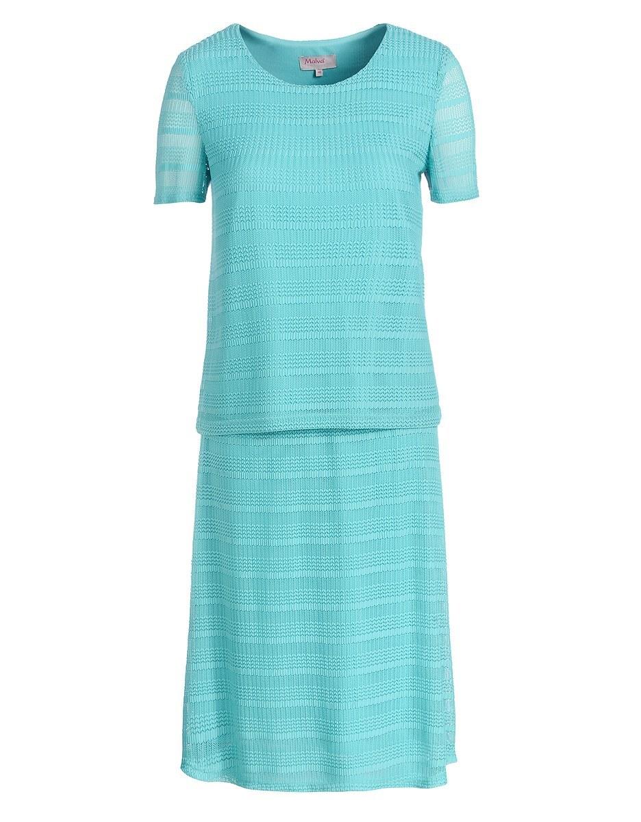 Bild 4 von Malva - 2-teiliges Kleid in Mesh-Qualität