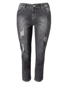 THEA - 5-Pocket-Jeans, stonewashed