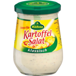 Kühne Sauce für Kartoffel Salat