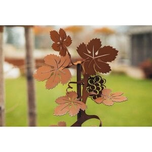 Ferrum Art Design Gartenstecker Vinea 148 cm Edelrost