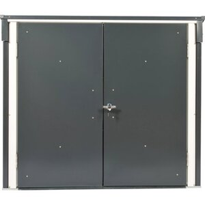 Duramax Mülltonnenbox Anthrazit-Weiß