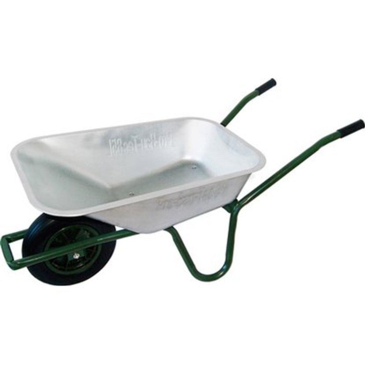 Bild 1 von Gartenschubkarre 85 l 120 kg Tragkraft mit pannensicherem PU-Rad