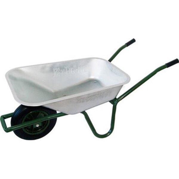 Gartenschubkarre 85 l 120 kg Tragkraft mit pannensicherem PU-Rad