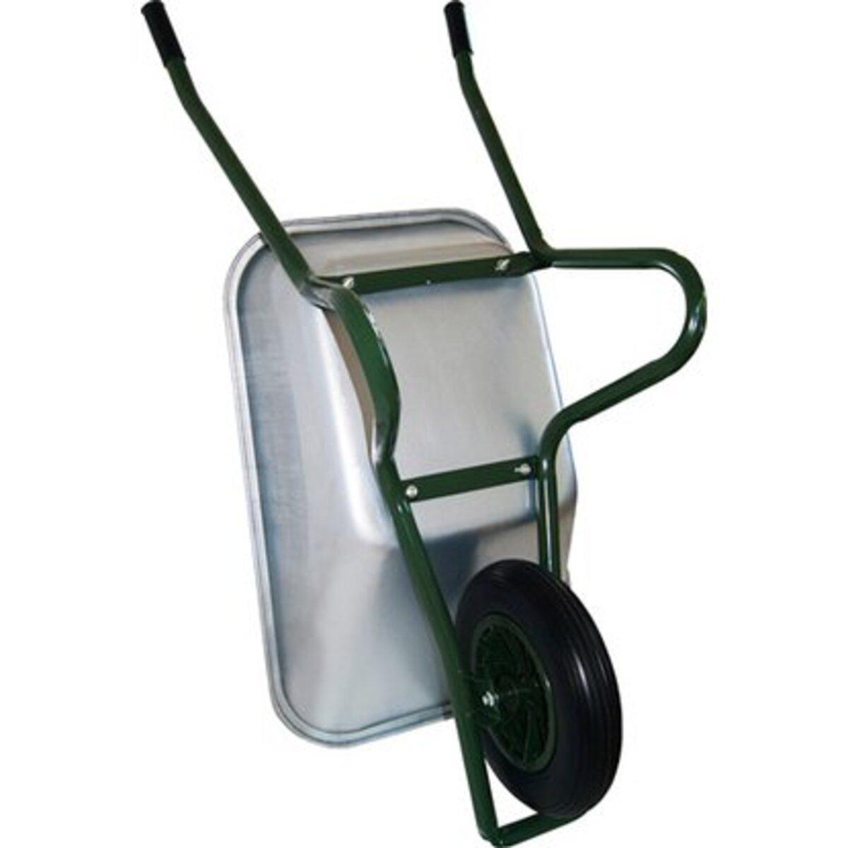 Bild 2 von Gartenschubkarre 85 l 120 kg Tragkraft mit pannensicherem PU-Rad