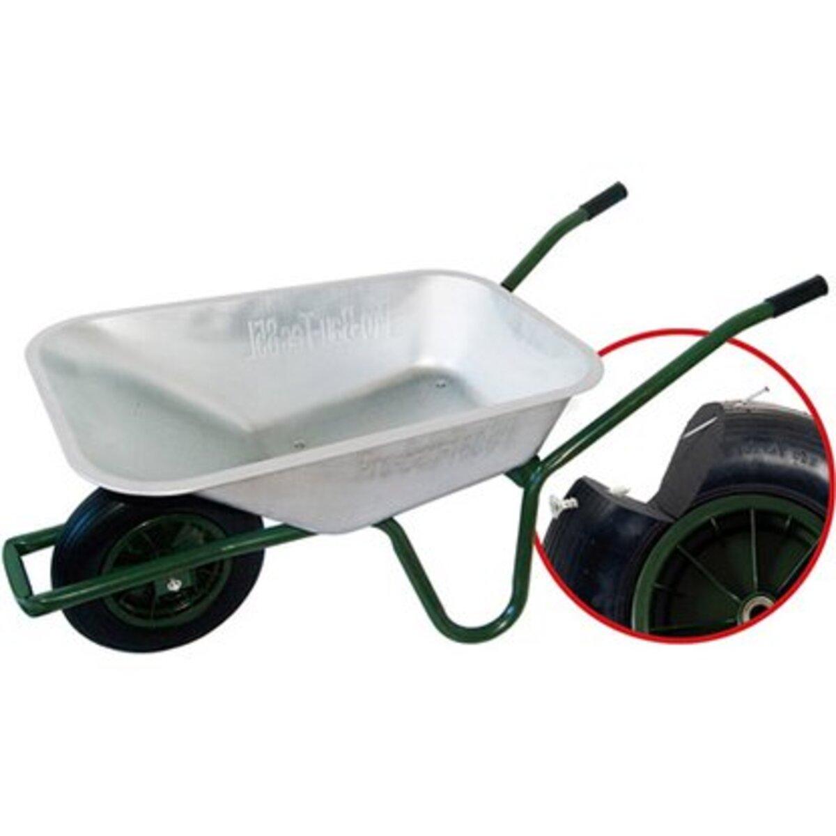 Bild 3 von Gartenschubkarre 85 l 120 kg Tragkraft mit pannensicherem PU-Rad