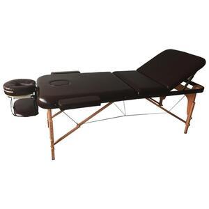 Massageliege aus Holz/Kunstleder