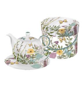 """ppd             Tea-4-One-Set """"Kensington Garden"""""""