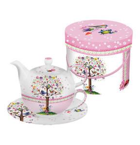 "ppd             Tea-4-One-Set ""Love Tree"""