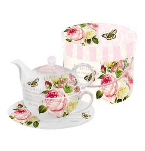 "ppd             Tea-4-One Set ""Jardin Rose"""